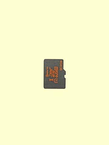 上海問屋オリジナル64GBmicroSDXCカード本体