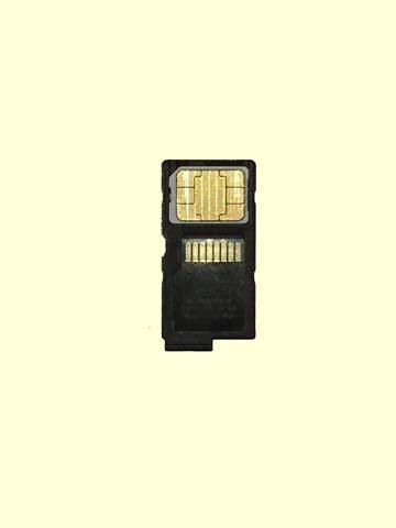 上海問屋オリジナル64GBmicroSDXCカードとSIMカードアダプタ