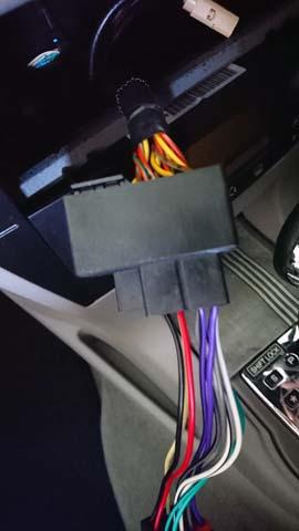 シトロエンC4用のオーディオ変換コネクター